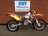 KTM EXC 200, 2012 MODEL, EXTRAS, ONLY 2 OWNERS & 1227 MILES & 68 HOURS, FULL MOT