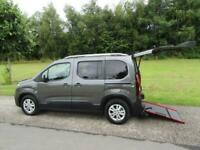 2019 Peugeot Rifter 1.5 Hdi WHEELCHAIR ACCESSIBLE DISABLED VEHICLE WAV MPV Diese