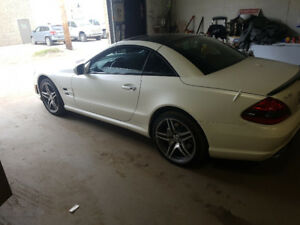 2009 mercedes Benz sl 63 IWC edition. Only 200 produced.