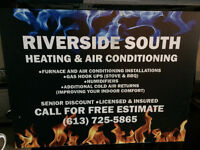 Rent to own. Buy or finance on Furnaces & Air conditioners