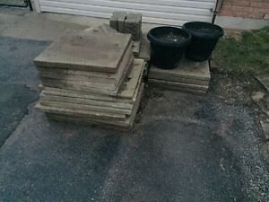 Patio Pavers/Stones/Slabs