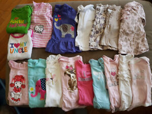 Girls 0-3 Months Spring/Summer Shirts