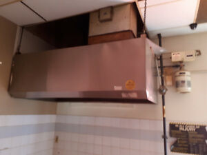 Restaurant Exhaust Hood Canopy & Fire Suppression