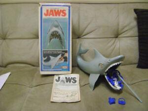 MAGNIFIQUE JEU DE JAWS VINTAGE 1975
