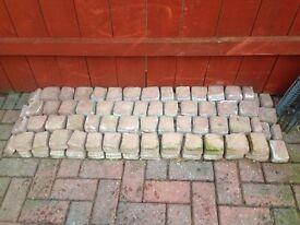 2x block mesh strips