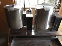 ***GENTLY USED COMMERCIAL SOUP BOILERS***
