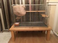 Metal Cage for chinchilla,degu,rabbit,rat and others