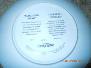 "Marching Band"" decorative plate Kitchener / Waterloo Kitchener Area image 2"
