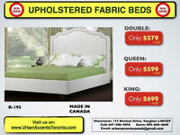 BEDS ON SALE IN TORONTO KING SIZE $699 MADE IN CANADA 4 COLORS