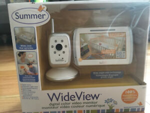 Summer infant wide view colour monitor