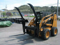 BOBCAT PALLET FORKS FROM TIMBERLAND - CALL DAVE 780-452-1863