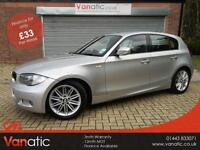 2009/59 BMW 118 2.0TD d M Sport, 3mth Warranty