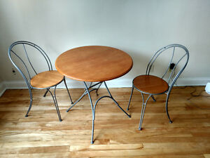 Two seats dining table