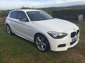 ** 2013 63 BMW 1 SERIES 116D SPORT * M SPORT BUMPERS * AUTOMATIC **