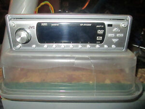 JVC Deck with DVD Screen