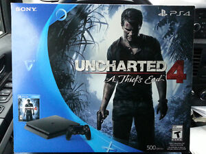 >>> Brand New Sealed in the box Uncharted 4 PS4 Slim Bundle <<<