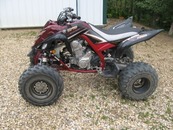 Used 2009 Yamaha Raptor 700 700R SE Special Edition