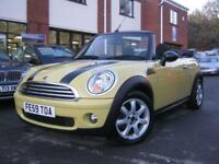 2009 59 MINI CONVERTIBLE MINI COOPER CONVERTIBLE,RARE INTERCHANGE YELLOW,GEN 50,