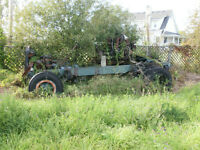 """B"" Model Mack trucks, 2 Mack engines and front axle for sale"