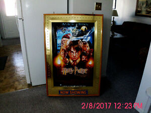 Movie Poster Lighted Display Case