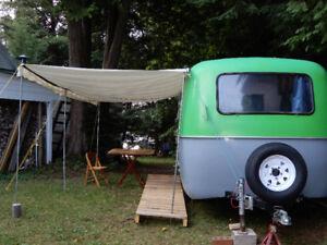 Boler travel trailer 13 ft. 1973