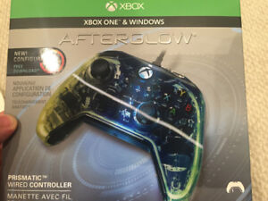 Brand new Xbox One & Windows afterglow RGB wired controller