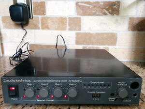Automatic Microphone Mixer Audio-Technica AT-MX341a
