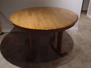 Dining table, wood. REDUCED!