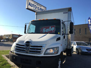 2007 HINO 185 WITH 16FT BOX LOW LOW KMS --AUTOLINKS 416-743-5465