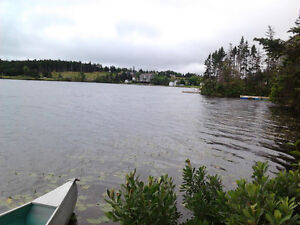 Land for sale right on the pond in Georgetown,NL