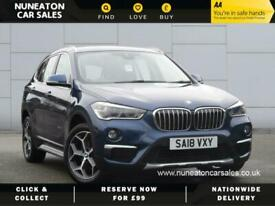 image for 2018 BMW X1 SDRIVE18I XLINE Estate Petrol Manual