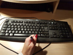 Clavier Acer comme neuf - fil PS2