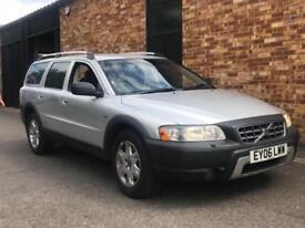 2006 Volvo XC70 2.4 D5 SE Geartronic AWD 5dr Diesel silver Automatic