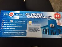 $50 oil change coupon
