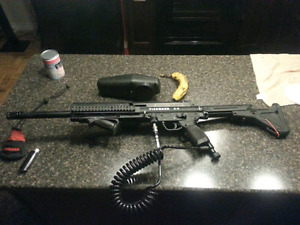 Tippmann A5 with response trigger and lots of stuff