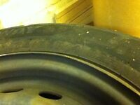 Renault kangoo steel wheels x 4 with tyres 175/65 R14