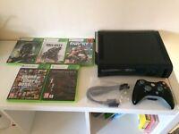 Microsoft Xbox 360 elite 250gb & games