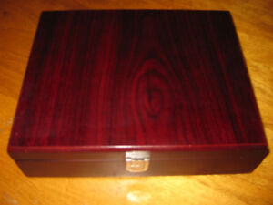 Mahogany Style Wine Kit In Case F/S