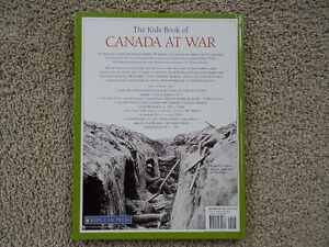 The Kids Book of CANADA AT WAR-Hard cover with Dust Jacket London Ontario image 2