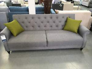 Tufted Sleeper Sofabed | Floor Model $349