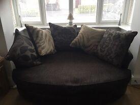 3 Seater Sofa and Cuddle Sofa for Sale