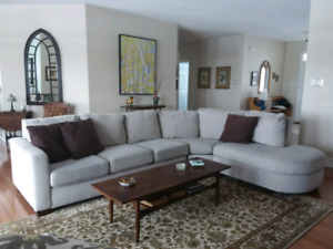 Sectional sofa.  Excellent condition.