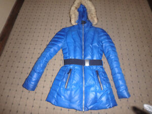 Reduced! DOWN FILLED COAT - Made by Danier Leather -Like New!