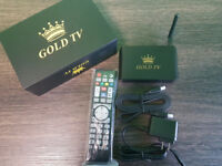 BLACK FRIDAY!! GOLDTV $149.99 WITH 3 MONTHS FREE LIVE CHANNELS!