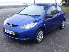 2009 / 59 MAZDA 2 TS 1.3 **ONE LOCAL LADY OWNER***FULL HISTORY** £2400