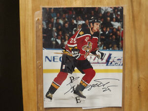 FS: Viktor Kozlov (Florida Panthers) 8x10 Autographed Photo