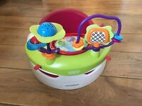 Mamas and Papas Snug Seat with Playtray