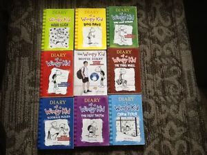 SCHOLASTIC DIARY OF A WIMPY KID BOOKS