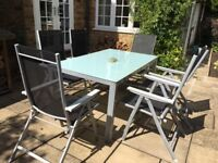Garden Table plus 6 Chairs