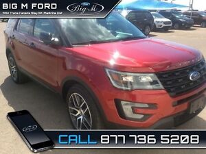 2017 Ford Explorer Sport  - $345.27 B/W - Low Mileage